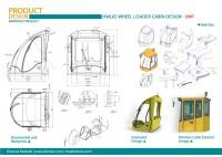 HEPCO wheel loader cabin design