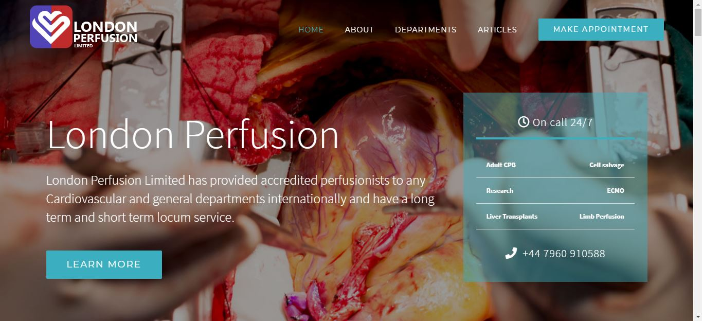 london perfusion ltd
