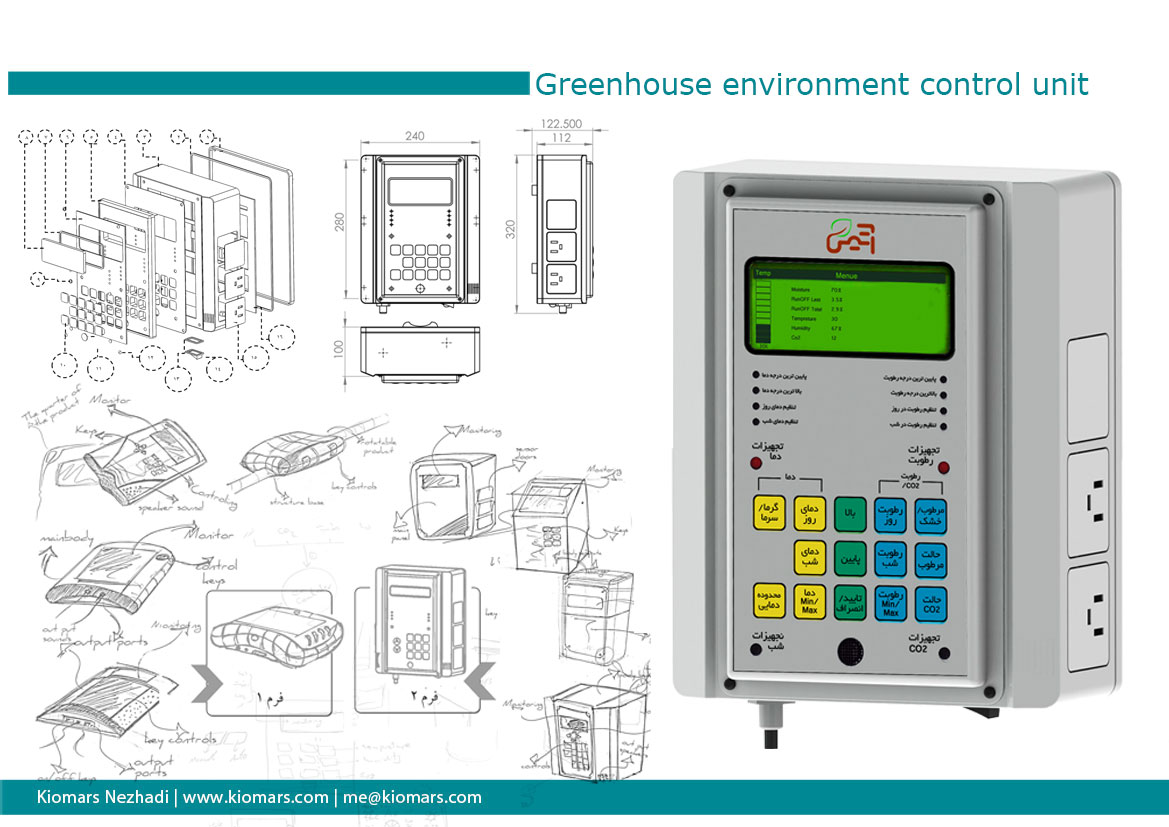 greenhouse control unit